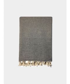 Ekin Ekin Cotton & Wool Blend Blanket - Slate