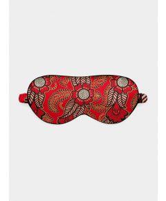 Silk Eye Mask - Red Henna