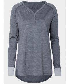 Women's Nattwarm® Sleep Tech V-Neck Top - Dark Grey