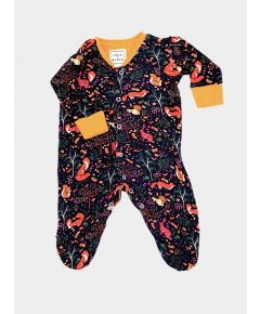 Cotton Babygrow - Woodland