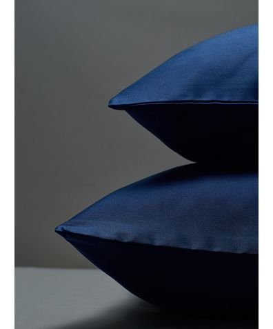 300 Thread Count Egyptian Cotton Sateen Pillowcase - Navy