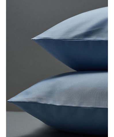 300 Thread Count Egyptian Cotton Sateen Pillowcase - Light Blue