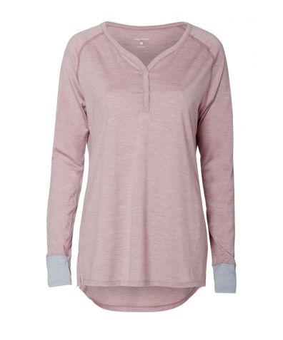 The Revolutionary Sleep-Tech Nattwarm® V-Neck Top - Pink