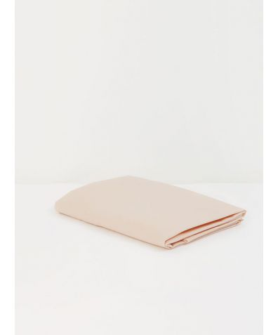 Tencel™ & Long Staple Cotton Weave Fitted Sheet - Peach
