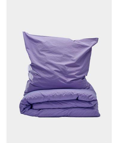 300 Thread Count Egyptian Cotton Percale Duvet Set - Lavender