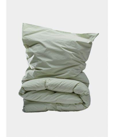 300 Thread Count Egyptian Cotton Percale Duvet Set - Meadow