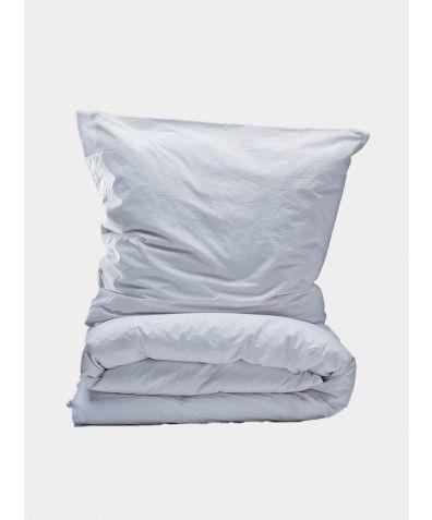 300 Thread Count Egyptian Cotton Percale Duvet Set - White