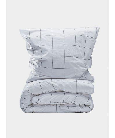 300 Thread Count Egyptian Cotton Percale Duvet Set - Window