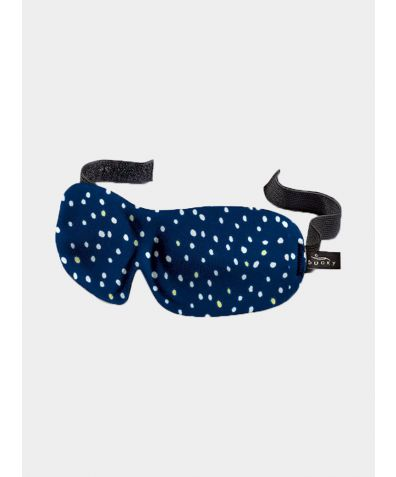 40 Blinks Sleep Mask - Blue Dots