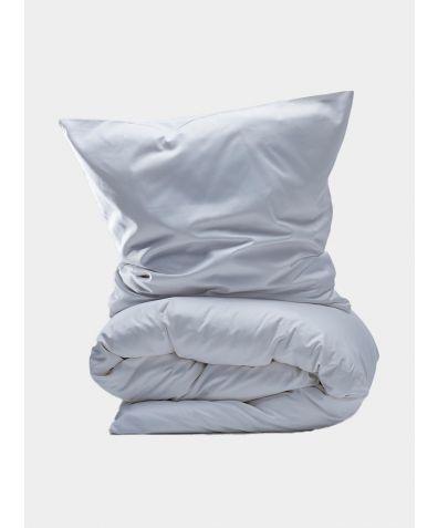 400 Thread Count Egyptian Cotton Sateen Duvet Set - White