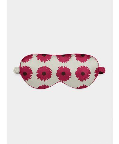 Silk Eye Mask - Pink Bloom