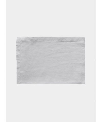 Linen Flat Sheet - Toulon Dove Grey