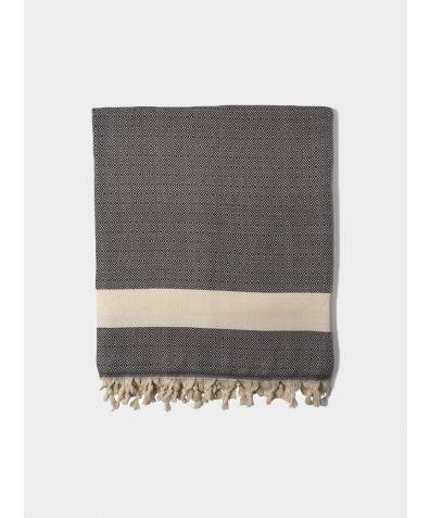 Damla Blankets - Black