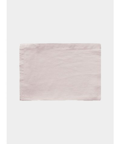 Linen Flat Sheet - Mireille Rose