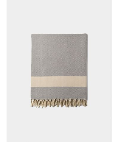 Ferah Blanket - Dove Grey