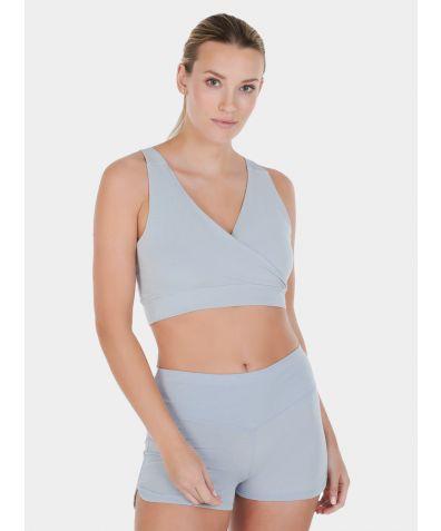 Women's Nattwell® Sleep Bra - Ice Blue