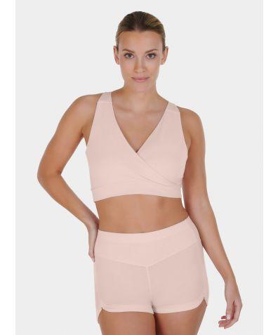 Women's Nattwell® Sleep Bra - Soft Peach