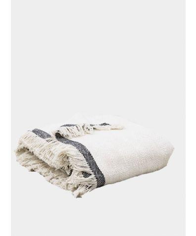 Andas Cotton Throw - Natural