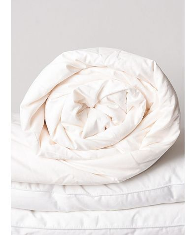 Combination Silk Duvet - White