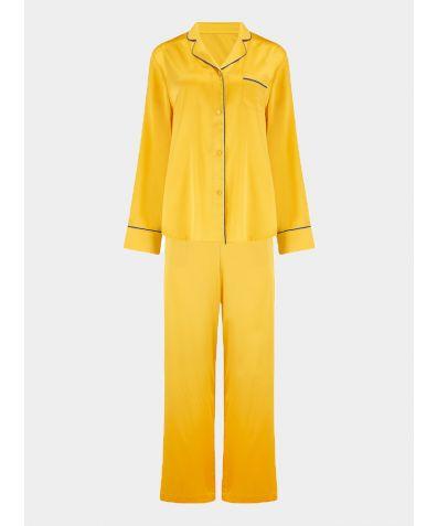Women's Aurelie Honeybee Silk Pyjama Trouser - Set/Separate