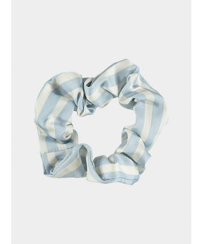Organic Bamboo Scrunchie - Simple Stripe