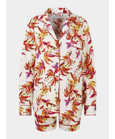 Women's Organic Cotton Pyjama Short Set - Bananeira