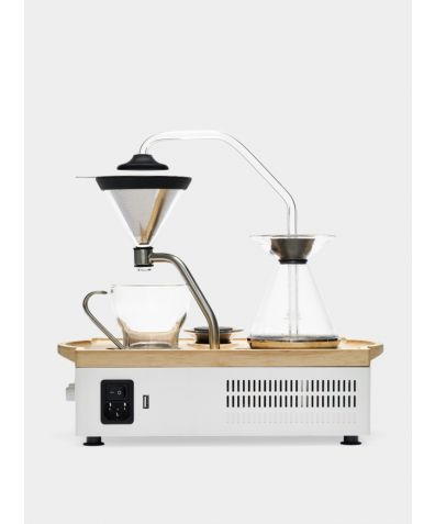 Barisieur Coffee Alarm Clock - White