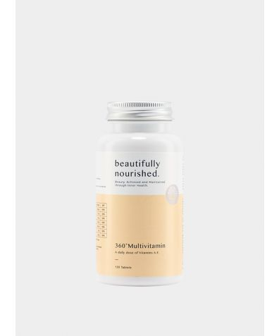 Beautifully Nourished's 360 Multivitamin (120 Tablets)