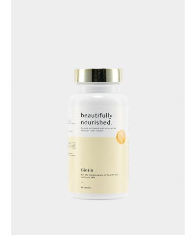 Beautifully Nourished's Biotin (60 Tablets)