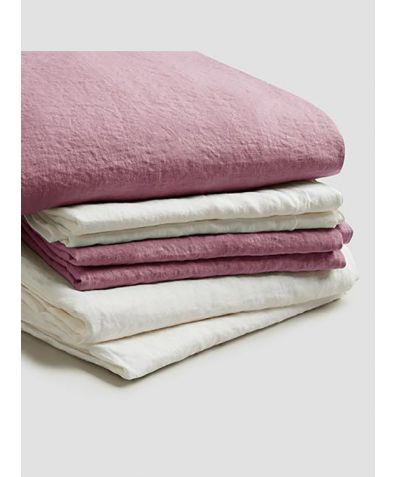 Linen Bedtime Bundle - Raspberry