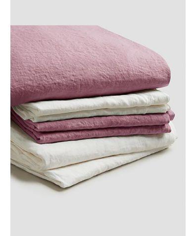 Linen Bedtime Bundle - Raspberry