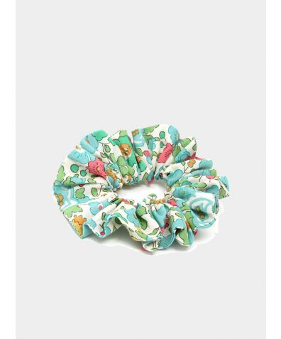Liberty Print Hair Scrunchie - Betsy Green