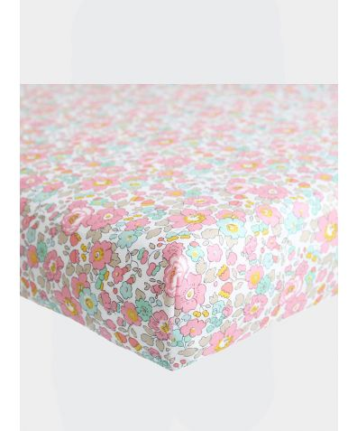 Liberty Print Fitted Sheet - Betsy Rose
