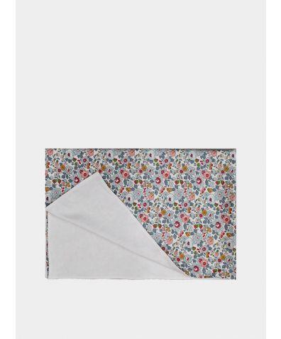 Liberty Print Baby Blanket - Betsy Grey