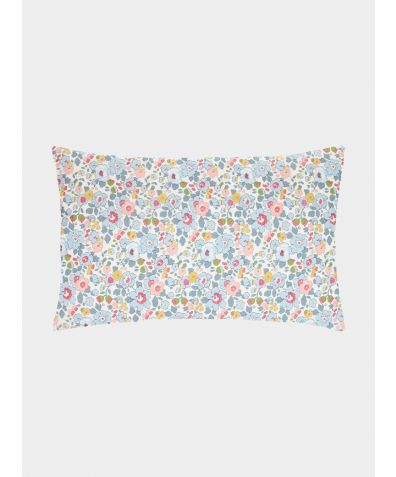 Liberty Print Pillowcase - Betsy Grey
