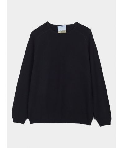 Unisex Cashmere Travel Pullover - Black