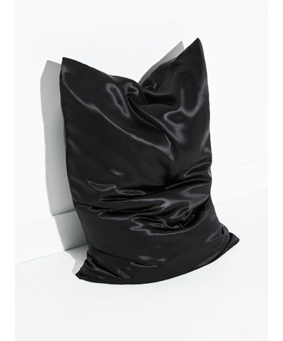 Mulberry Silk Pillowcase - Black