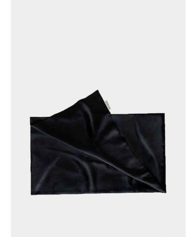 Mulberry Silk Pillowcase - Midnight Black