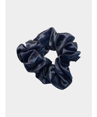 Silk Scrunchie - Black