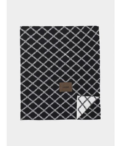 Merino Wool Blanket - Black