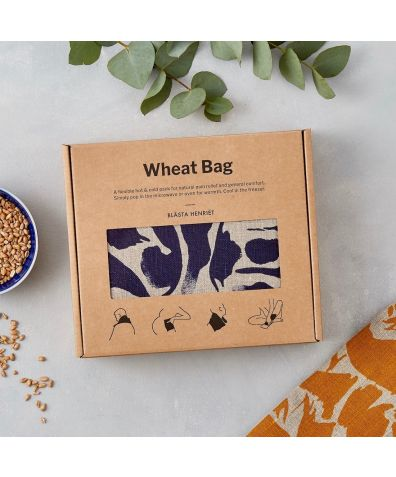 Blue Creatures Linen Wheat Bag – Hot and Cold Pack