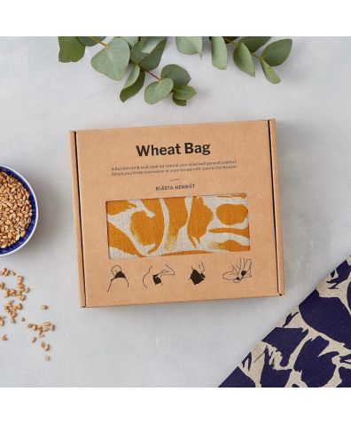 Orange Creatures Linen Wheat Bag – Hot and Cold Pack