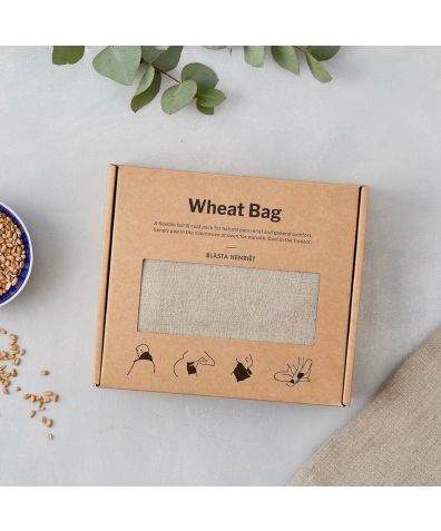 Plain Linen Wheat Bag – Hot and Cold Pack