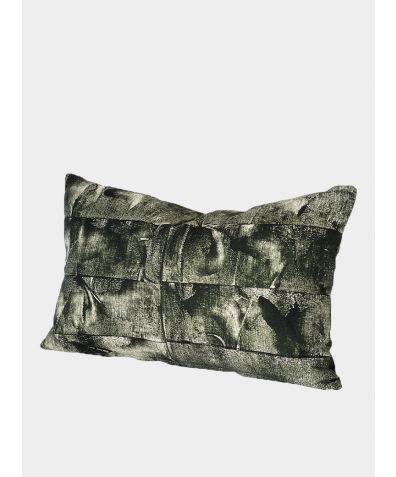 Bloc II: Racing Green Cushion