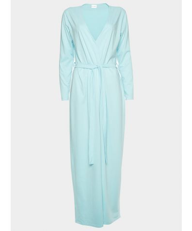 Luxury Cotton Sleep Robe - Bluebell