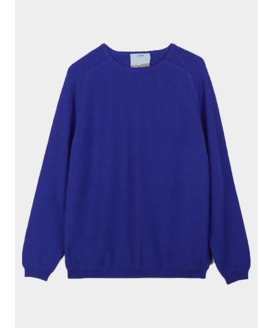Unisex Cashmere Travel Pullover - Ultramarine