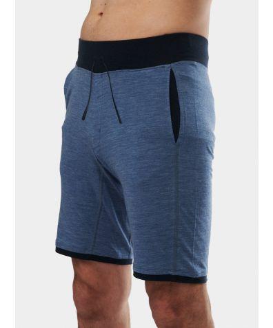 Mens Nattwarm® Sleep Tech Shorts - Blue Melange