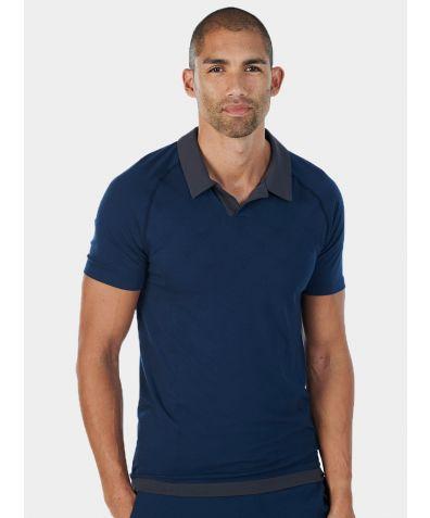 Mens Nattwell® Sleep Tech Polo Shirt - Midnight Blue