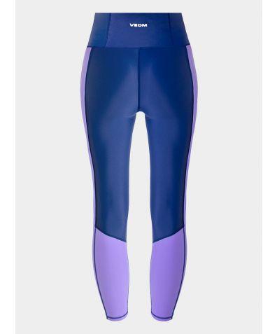 Leggings - Navy & Purple