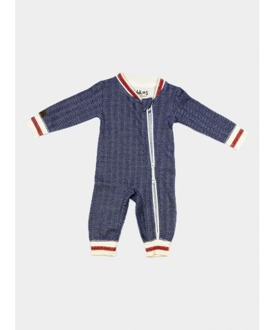 Organic Cottage Collection Playsuit - Lake Blue